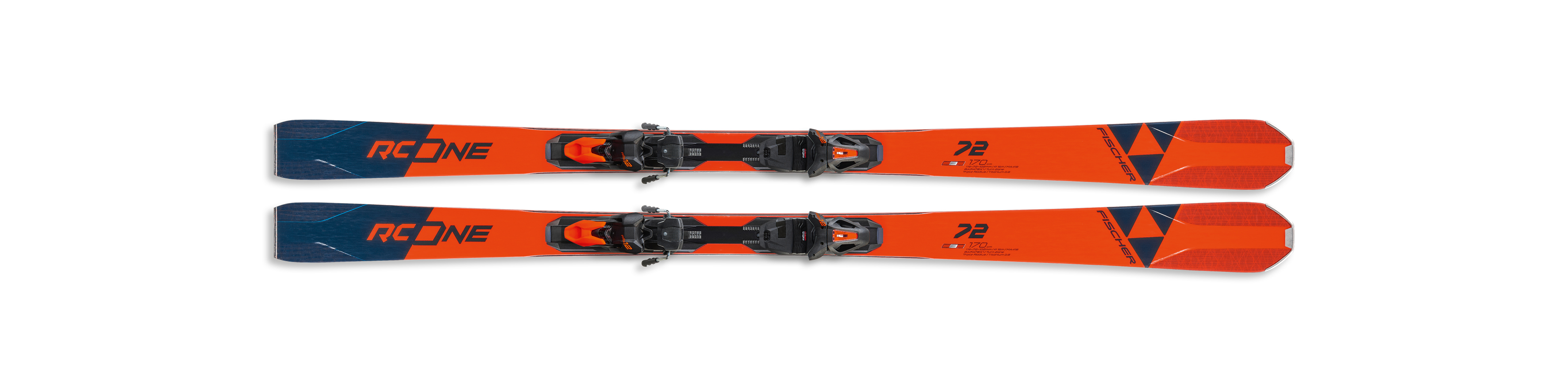 Fischer RC One Turn Poles Black//red