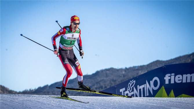 Norwegian nordic combined athletes win gold in the team competition