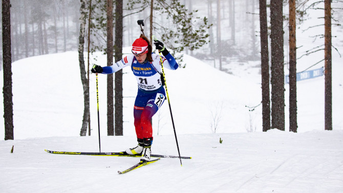 Tiril Eckhoff wins pursuit race in Ruhpolding