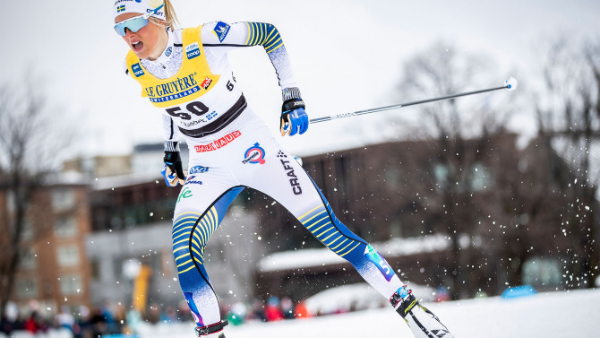 Frida Karlsson defeats Johaug at Holmenkollen