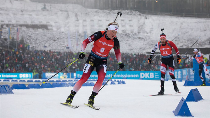 Norwegian women and men dominate relay races