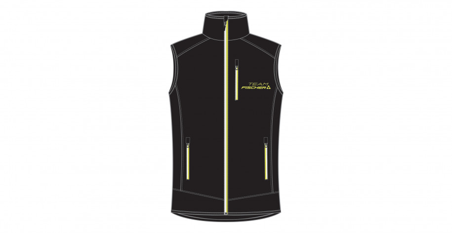 SHOP-KIT STRETCH VEST 18/19 - BLACK