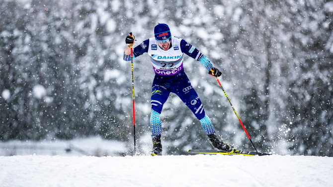 Sweden and Norway win team sprint at snow chaos in Planica