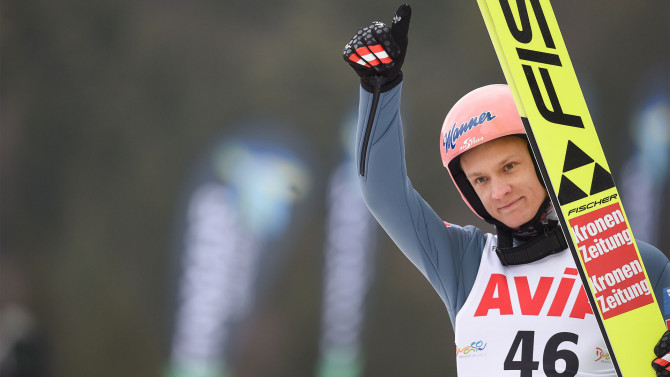 Daniel Huber gets his first World Cup victory with Austria
