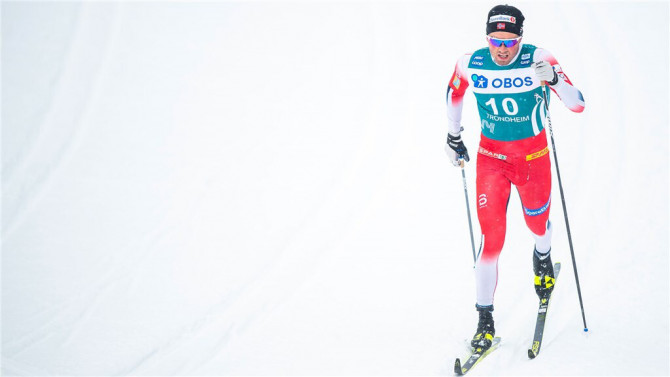 Emil Iversen third over 50 kilometers at Holmenkollen