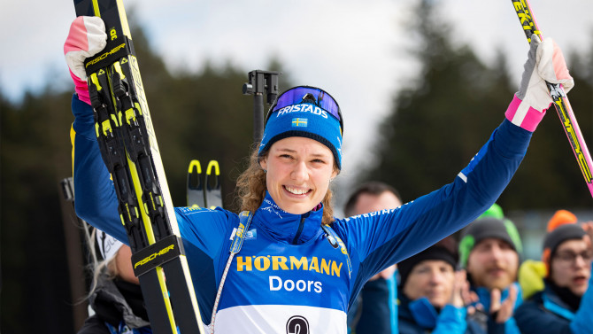 Record medal haul in Pokljuka