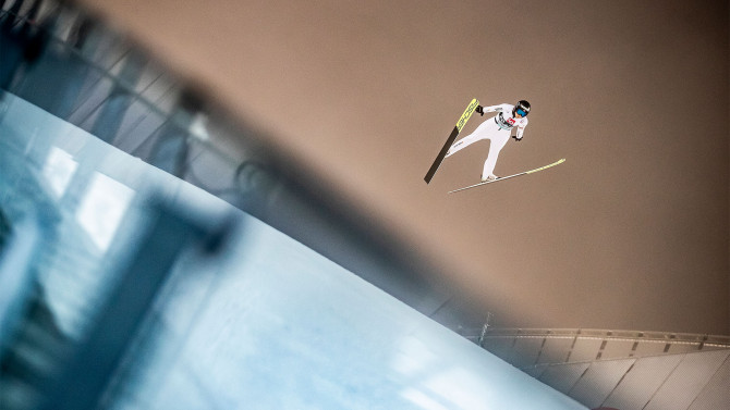 Stoch and Lundby win second RAW AIR competition