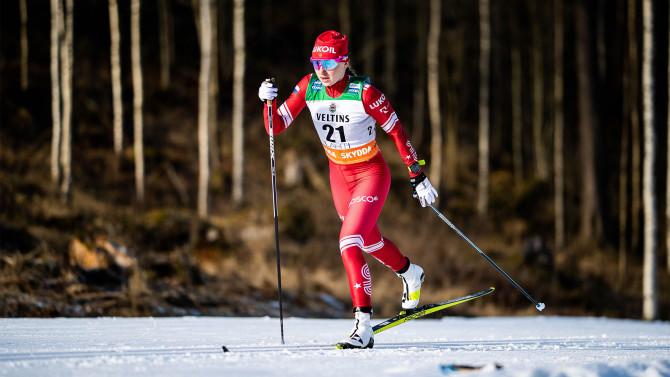 Sweden beats Norway in women's relay