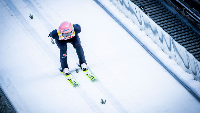 Norway dominates team skijump of the RAW AIR series